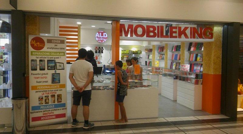 Riparazione Cellulari Thiene.Mobile King Centro Commerciale Thiene